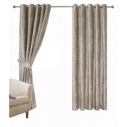 CRUSHED VELVET – SOFT LUXURY VELVET CURTAINS – LINED RING TOP CURTAINS