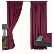 MONTREAL – SOFT LUXURY VELOUR CURTAINS – LINED TAPE TOP CURTAINS