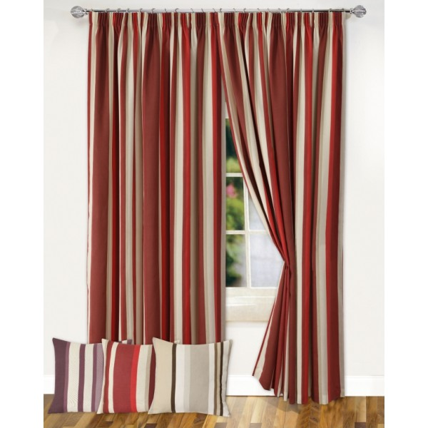 STRIPES   A BOLD U0026 CONTEMPORARY DESIGN   VERTICAL STRIPED CURTAINS   TAPE  TOP LINED, PRINTED CURTAINS