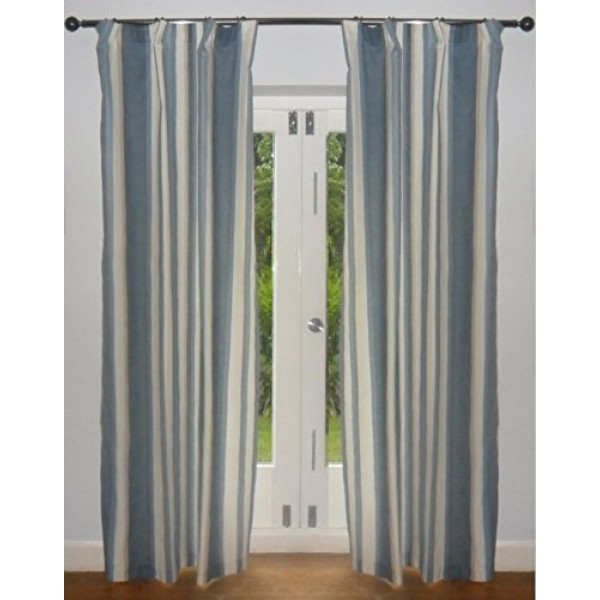 Blue Vertical Striped Curtains 28 Images Vertical