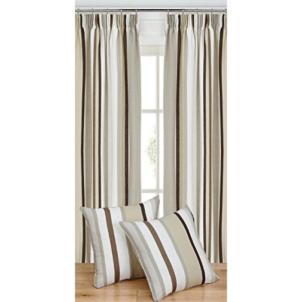 A BOLD & CONTEMPORARY DESIGN - VERTICAL STRIPED CURTAINS - TAPE ...