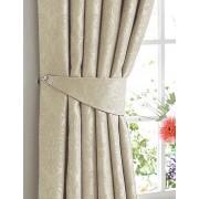 DAMASK BLACKOUT – Woven Soft Handle Jacquard Curtain – Tape Top – Pencil Pleat