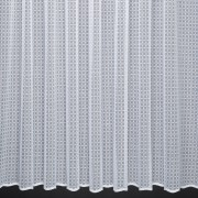 EMILY - AN  ALLOVER SPOT DESIGN NET CURTAIN WITH A TEXTURED GROUND - SOLD  BY THE METRE