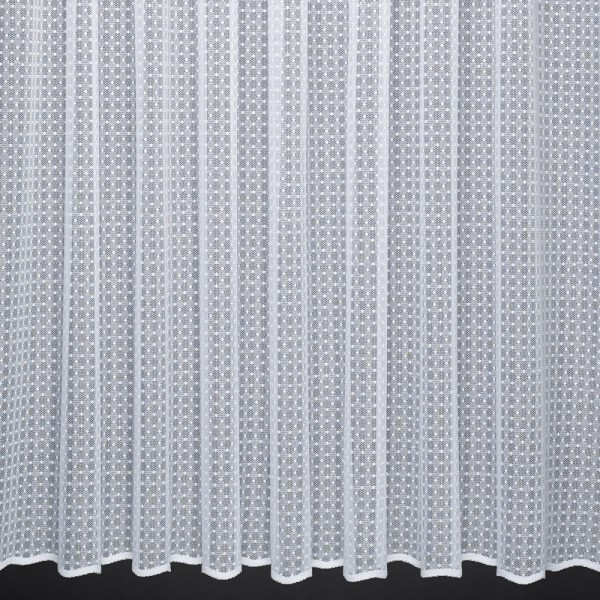 Emily an allover spot design net curtain with a textured for Household design 135 curtain road