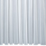 CHESHIRE - Plain Voile Curtain with Lead Weighted Base - Made to Measure